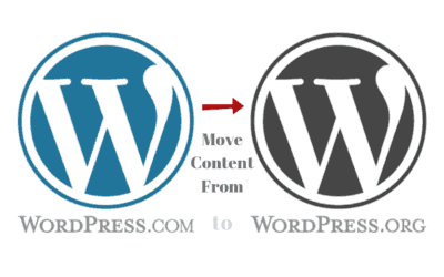 How to Properly Move Content from WordPress.com to WordPress.org