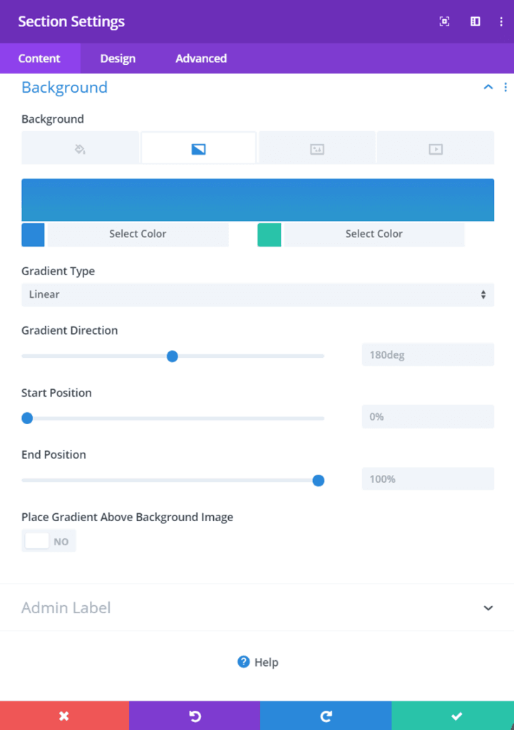Adding Gradient background to post title section inside Divi Blog Posts Template