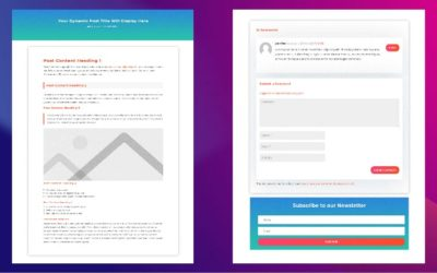 How to Create a Divi Blog Posts Template with Divi Theme Builder
