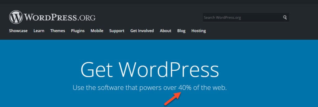 40 Of The Internet Is Powered By Wordpress 1024X347 1