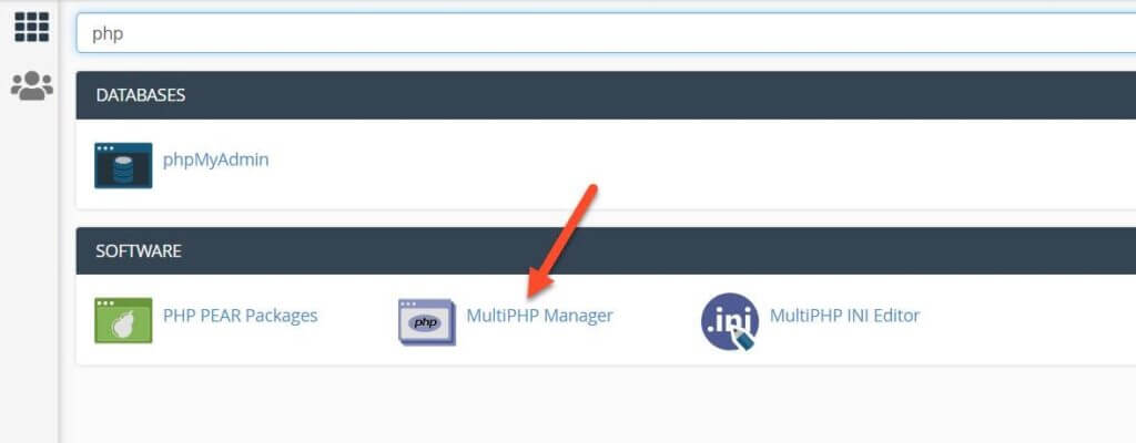 Multiphp Manager In Cpanel