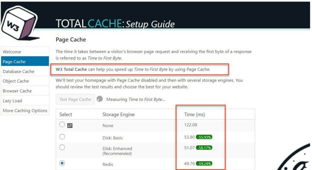W3 Total Page Cache